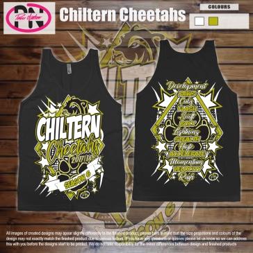 Chiltrern Cheetahs 17-18 Vest