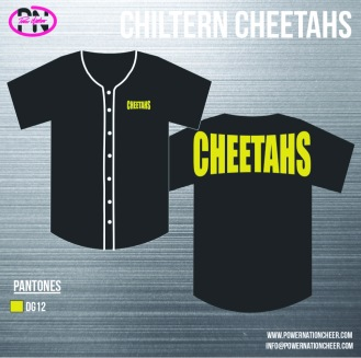 Chiltern Cheetahs Baseball Jersey
