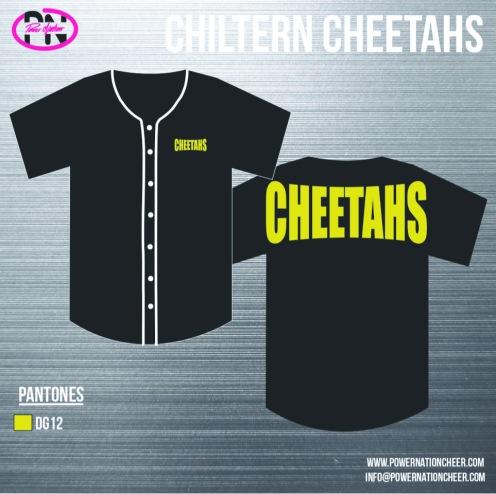 Chiltern Cheetahs Baseball Jersey