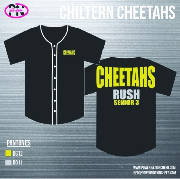 Chiltern Cheetahs Baseball Jersey2